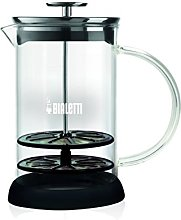Bialetti Glass Milk Frother, Black