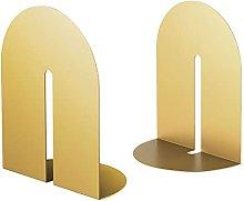 BIAOYU Arch Bookends Decorative Book Holder Light