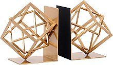 BIAOYU Box Bookends for Shelves Decorative Book