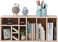 BIAOYU Desktop Bookshelf Multifunctional Shelf No
