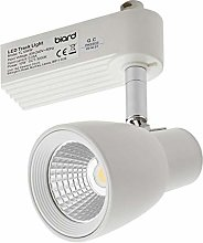 Biard 10W LED Dimmable White Single Circuit Track