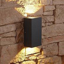 Biard Matte Black Square Cube LED Indoor Outdoor
