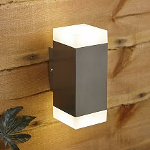 Biard Up Down LED Wall Light - Modern Stainless