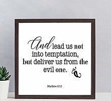Bible Verse Printable Wood Framed Sign Scripture