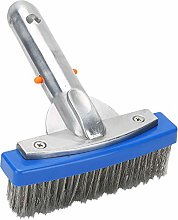 Bicaquu Stainless Steel Pool Brush Cleaning Brush