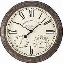 Bickerton Outdoor and Indoor Wall Clock with