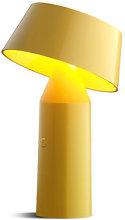 Bicoca Wireless lamp by Marset Yellow