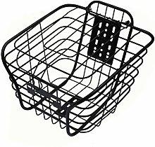 Bicycle Basket Bicycle Front Basket Metal Wire