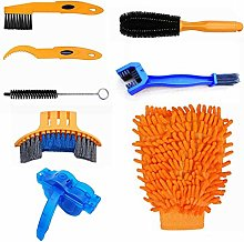 Bicycle Chain Cleaning Kit,8 Piece Set of