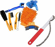 Bicycle Cleaning Brush Kit 8pcs Bike Clean Tools
