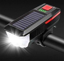 Bicycle lights, solar bike lights, Loading