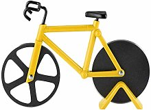 Bicycle Pizza Cutter,Stainless Steel Bicycle Shape