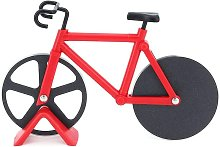 Bicycle Pizza Cutter Wheel, Stainless Steel