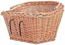 Bicycle Retro Bike One Basket Willow Bicycle
