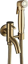 Bidet Spray Set Hand Held Sprayer Gold,
