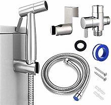 Bidet Stainless Steel Handheld Kit Bidet Faucet