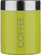 Bidon Coffee Canister Lime Green Enamel.