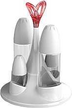 Biesse Casa Cruet Set with Glass Container,