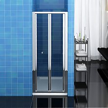 Bifold Shower Enclosure Reversible Folding Glass