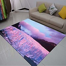 Big Area Floor Rug,3D Print Carpet,Natural Scenery