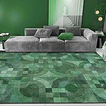 Big Area Floor Rug Home Accessories Emerald green