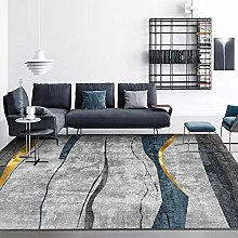 Big Area Floor Rug Home Accessories Gray blue gold