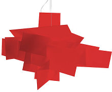 Big Bang Pendant by Foscarini Red