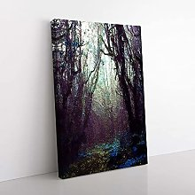 Big Box Art A Forest Arch in Abstract Canvas Wall