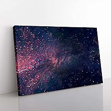 Big Box Art Bloom of Time in Abstract Canvas Wall