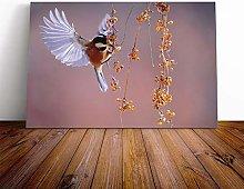 Big Box Art Canvas Print Wall Art Bird with Spread