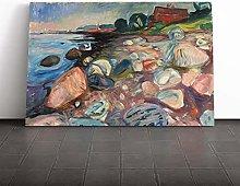 Big Box Art Canvas Print Wall Art Edvard Munch The