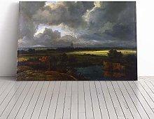 Big Box Art Canvas Print Wall Art Jacob Ruisdael