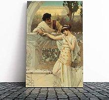 Big Box Art Canvas Print Wall Art John William