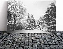 Big Box Art Canvas Print Wall Art Landscape Winter