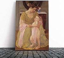 Big Box Art Canvas Print Wall Art Mary Cassatt