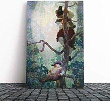 Big Box Art Canvas Print Wall Art N. C. Wyeth