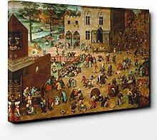Big Box Art Canvas Print Wall Art Pieter Bruegel