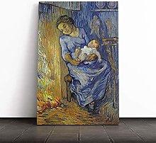 Big Box Art Canvas Print Wall Art Vincent Van Gogh