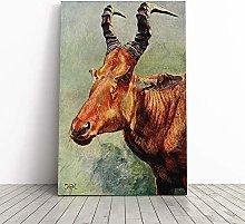 Big Box Art Canvas Print Wall Art Vintage H