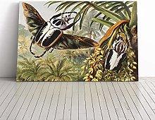 Big Box Art Canvas Print Wall Art Vintage H Morin