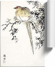 Big Box Art Copper Pheasant by Numata Kashu Poster