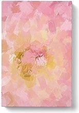 Big Box Art Dahlia Flower Abstract Canvas Wall Art