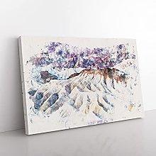 Big Box Art Death Valley Mountains in California