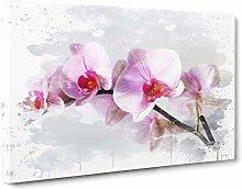 Big Box Art Flower Pink Orchid (2) V3 Canvas Wall