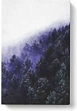 Big Box Art Forest Fog in Germany Painting Canvas
