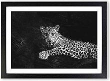 Big Box Art Leopard Painting Framed Wall Art