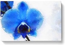 Big Box Art Orchid in Abstract Canvas Wall Art