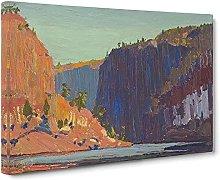 Big Box Art Petawawa Gorges by Tom Thomson Canvas