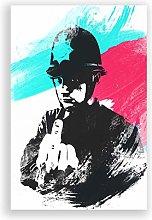 Big Box Art Poster Print Banksy Rude Copper