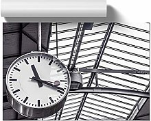 Big Box Art Poster Print Wall Art Deadline Clock  